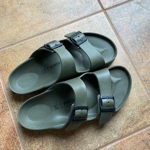 Birkenstock olive green EVA sandal